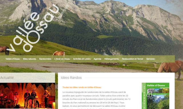 Site officiel de la Vallée d'Ossau