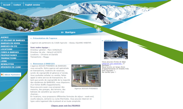 Agence Immobilière Pyrénées Séjours