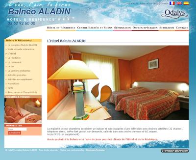 Hôtel Balnéo Aladin