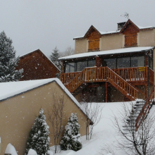 Location d'un chalet aux Angles