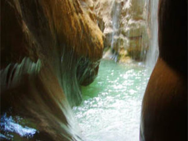 Canyoning Fred Bruel