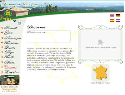 Gites de Campras Saissac Aude Pays Cathare