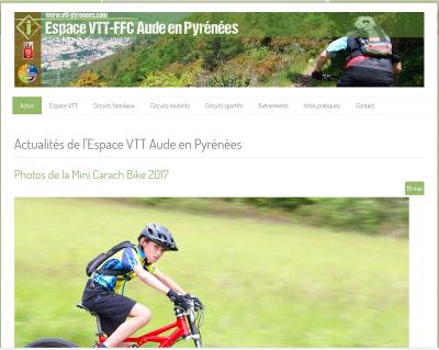 Espace VTT-FFC Aude en Pyrénées