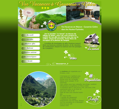 Location gavarnie gèdre, vacances Hautes-Pyrénées