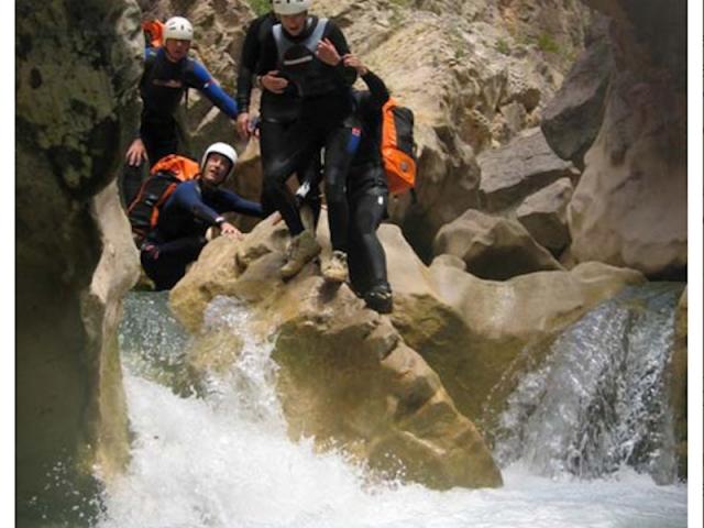 Guara-Canyoning