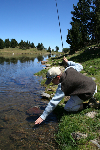 Jean-Luc Belou, guide de pêche à la mouche