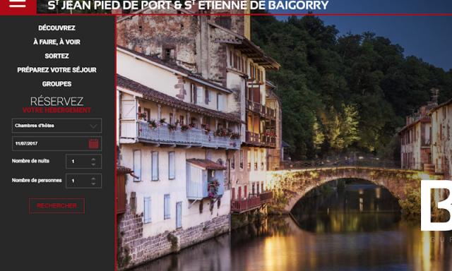 Saint Jean Pied de Port et Saint Etienne de Baigorry