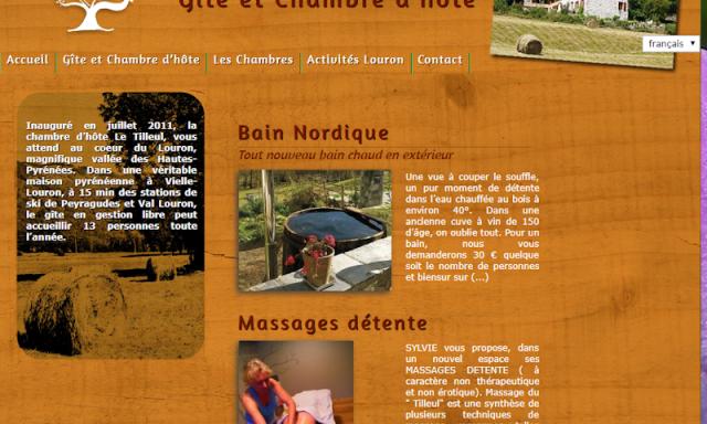 Gîte Le Tilleul, location vacances dans le Louron (Hautes-Pyrénées)